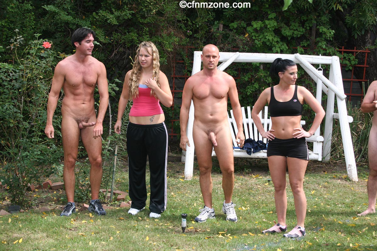 Nude outdoor game photos