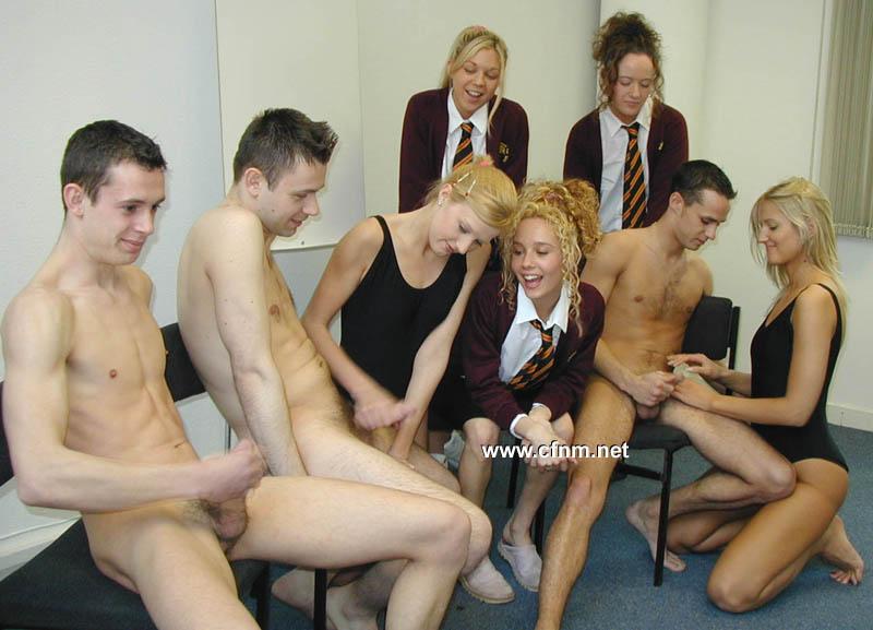 college cfnm swimming, college cfnm punishment